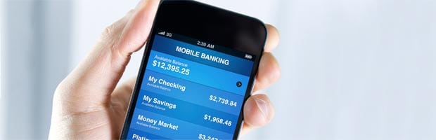 smartphone, mobile banking