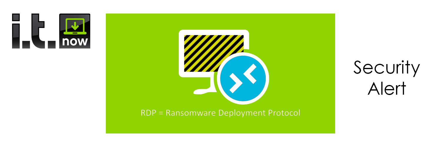 Remote Desktop Protocol Ransomware Threat | IT Security